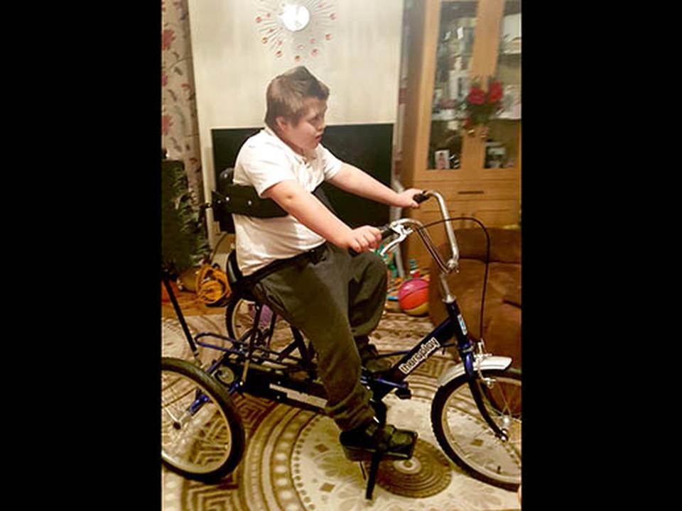 Tyler's New Trike Helps Him With Physical and Mental Wellbeing