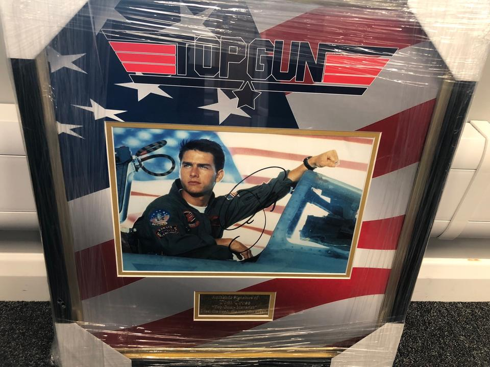 NOW SOLD - Signed Tom Cruise Picture