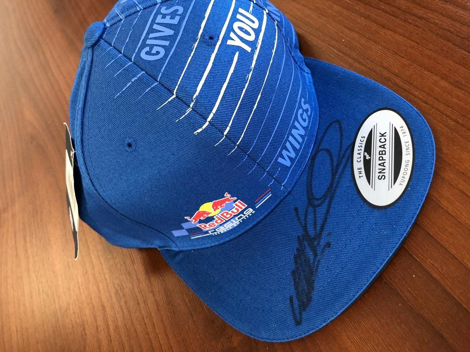NOW SOLD - F1 Cap - Signed