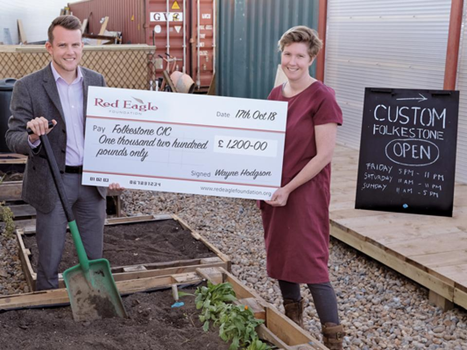 Foundation Funds Folkestone CIC Garden Project