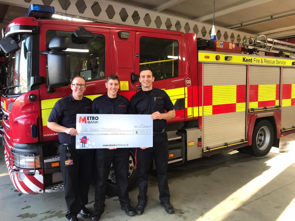 Canterbury Fire Station Raise £9K for Great Causes