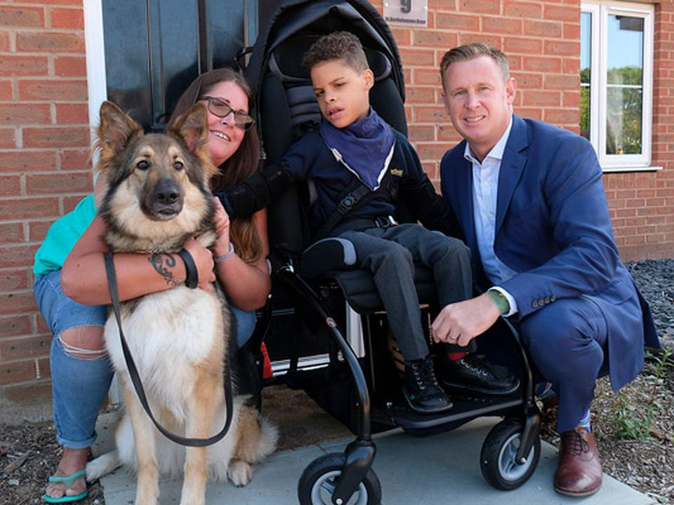 New Bespoke Wheelchair for Young Sittingbourne Lad