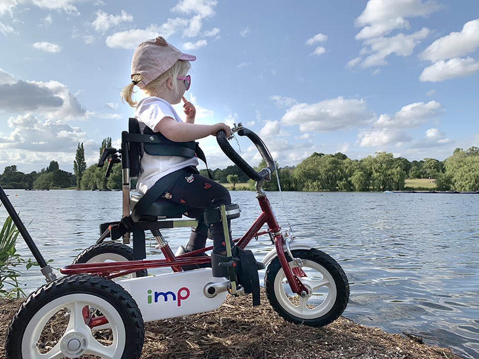 New Trike Gives Willow Independence and Freedom